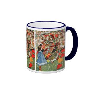 Alicia en el país de las maravillas taza de café