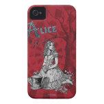 Alicia en el país de las maravillas - Tim Burton Case-Mate iPhone 4 Cobertura