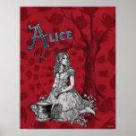 Alicia en el país de las maravillas - Tim Burton Poster