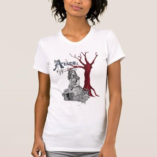 Alicia en el país de las maravillas - Tim Burton Camisetas