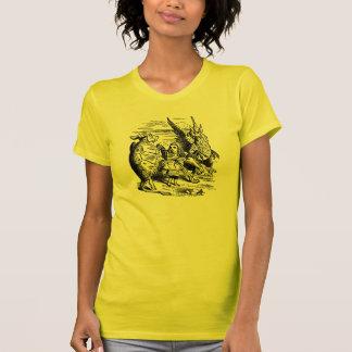 Alicia en el país de las maravillas; Tortuga Camisetas