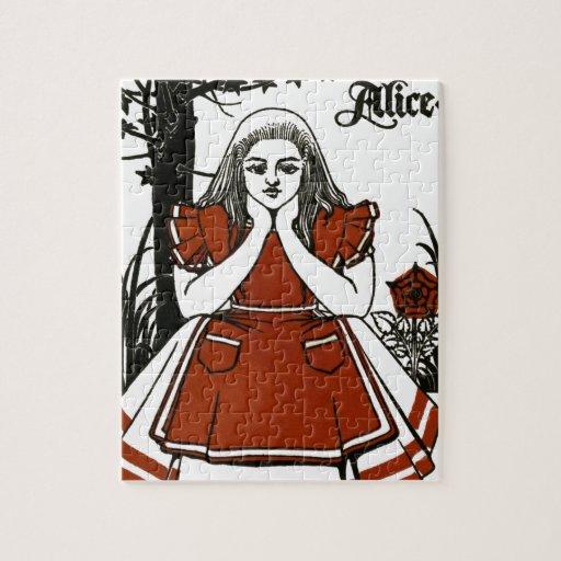 Alicia en el país de las maravillas; Un juego. Ali Puzzle
