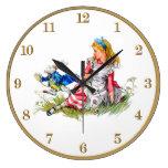 Alicia en el país de las maravillas y el reloj bla