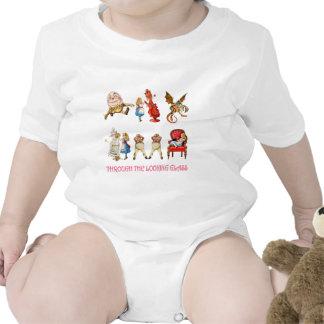 Alicia en el país de las maravillas y sus amigos trajes de bebé