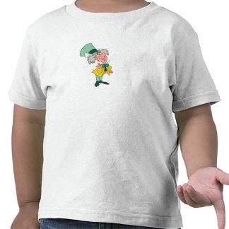 Alicia en el sombrerero enojado del país de las camiseta