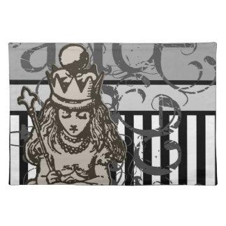 Alicia en Grunge de la reina Alicia del país de la Manteles