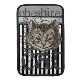 Alicia en Grunge del gato de Cheshire del país de  Funda Para Macbook Air