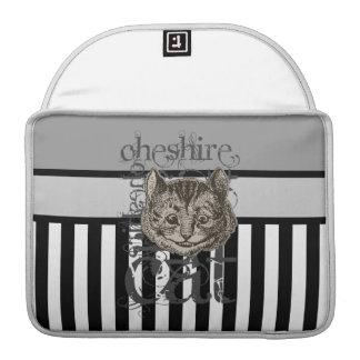 Alicia en Grunge del gato de Cheshire del país de  Funda Para Macbook Pro