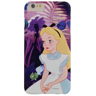 Alicia en jardín del país de las maravillas funda barely there iPhone 6 plus