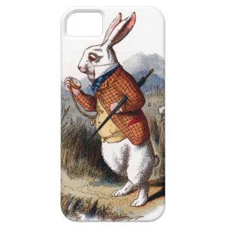 Alicia en la caja blanca del iPhone 5 del conejo d iPhone 5 Case-Mate Fundas