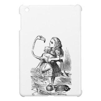 Alicia en la impresión del vintage del croquet del iPad mini cárcasa