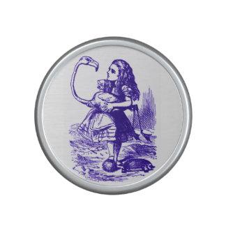 Alicia en la púrpura Bluetooth del flamenco del Altavoz