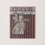 Alicia en la reina del país de las maravillas del  puzzles