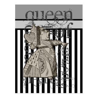 Alicia en la reina del país de las maravillas del tarjetas postales