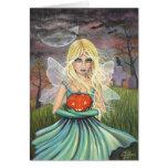 Alicia en la tarjeta de hadas de Halloween por Mol