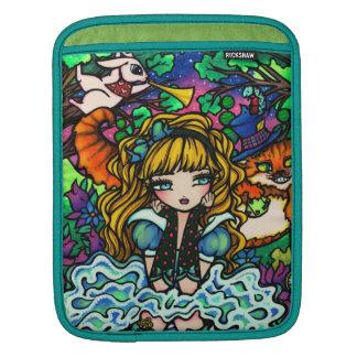 Alicia en manga del iPad del gato de Cheshire del  Mangas De iPad