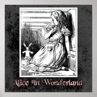 Alicia en poster del país de las maravillas 13
