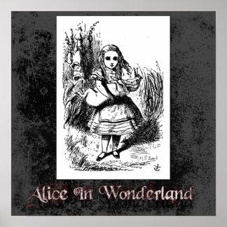 Alicia en poster del país de las maravillas 22