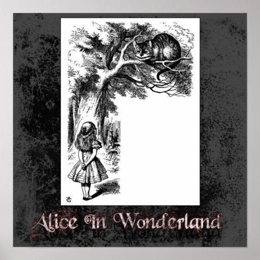 Alicia en poster del país de las maravillas 33