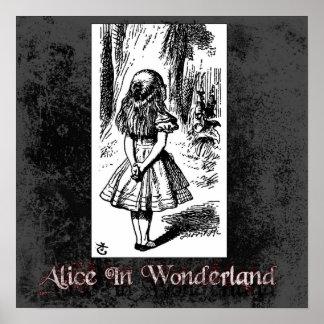 Alicia en poster del país de las maravillas 42