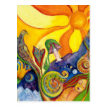 Alicia en sueño de hadas de la sol de la fantasía  tarjetas postales