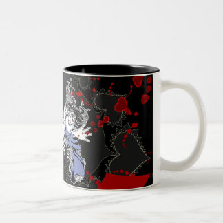 Alicia en taza gótica del fractal de Lolita del
