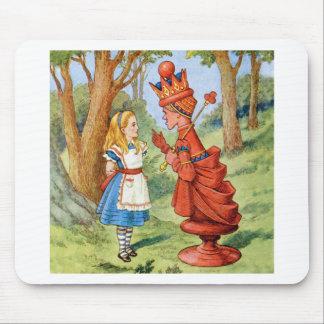 Alicia encuentra a la reina roja tapete de raton