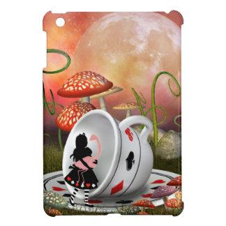 Alicia, flamenco y taza de té surrealistas