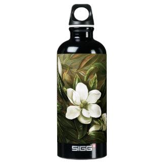 Alicia H. Laird: Magnolia Grandflora Aluminum Water Bottle