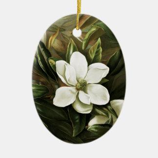 Alicia H. Laird: Magnolia Grandflora Ceramic Ornament