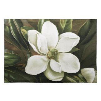 Alicia H. Laird: Magnolia Grandflora Cloth Placemat