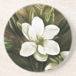 Alicia H. Laird: Magnolia Grandflora Drink Coaster