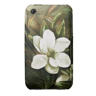 Alicia H Laird Magnolia Grandflora iPhone 3 Case-Mate Fundas