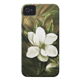 Alicia H Laird Magnolia Grandflora iPhone 4 Case-Mate Carcasa