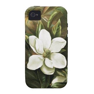 Alicia H Laird Magnolia Grandflora Case-Mate iPhone 4 Fundas