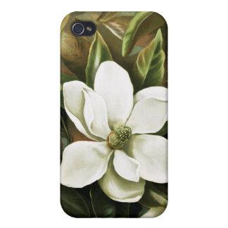 Alicia H Laird Magnolia Grandflora iPhone 4 Protectores