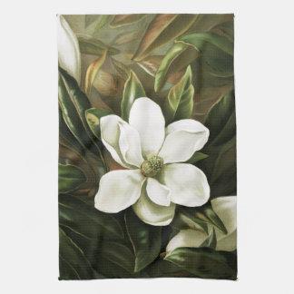 Alicia H. Laird: Magnolia Grandflora Kitchen Towel