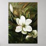 Alicia H. Laird: Magnolia Grandflora Posters