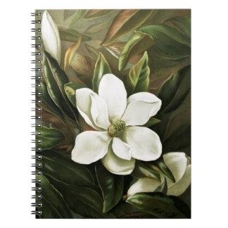 Alicia H. Laird: Magnolia Grandflora Spiral Notebook