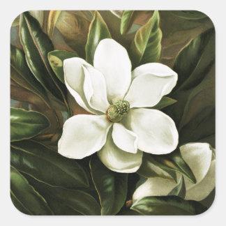 Alicia H. Laird: Magnolia Grandflora Square Sticker