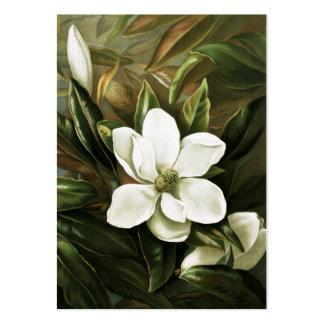 Alicia H Laird Magnolia Grandflora Plantilla De Tarjeta De Visita