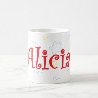 Alicia happy stars mug