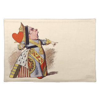 Alicia - la reina del corazón - Placemat Manteles
