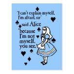 Alicia no misma postal