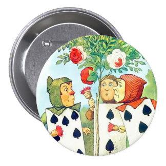 """Alicia-Páginas de las espadas - 3"""" botón Pin"""