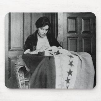 Alicia Paul, bandera de costura del sufragio, los  Tapete De Ratón