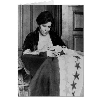 Alicia Paul bandera de costura del sufragio los Felicitación