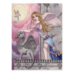 Alicia - postal del ángel