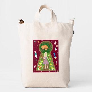 Alicia (serie de la moda del cuento de hadas #4) bolsa de lona duck