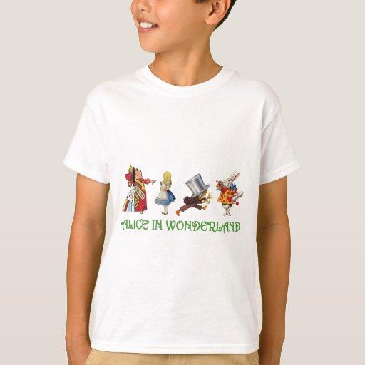 Alicia y amigos en el país de las maravillas camisas